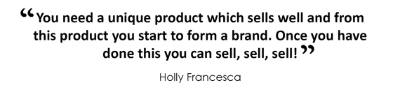 HOLLY FRANCESCA quote