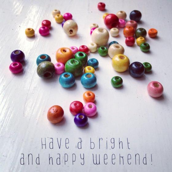 Happy Weekend folks!