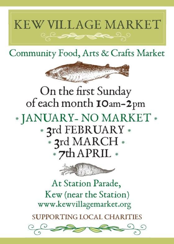 Kew Village Market_poster