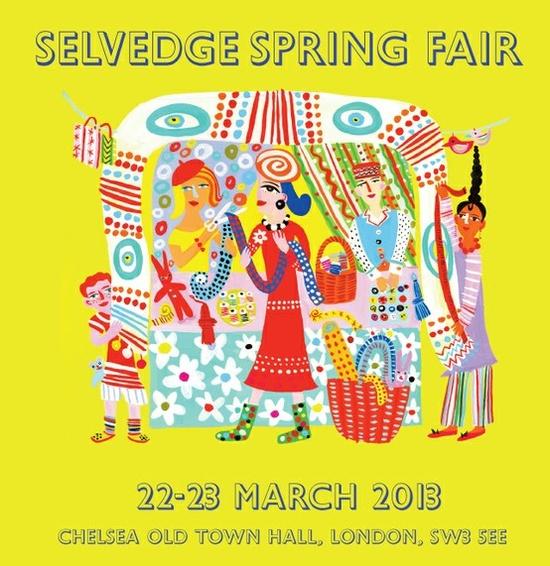 Selvedge Spring Fair 2013