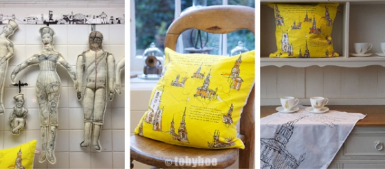 tobyboo oranges & lemons cushion 2 WEB