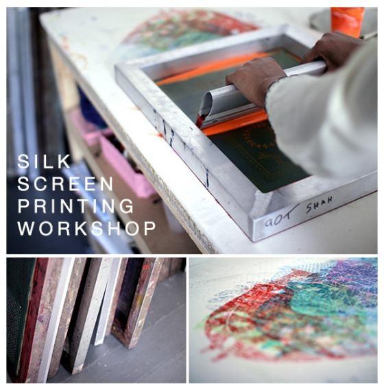 SCREENPRINTINGworkshop