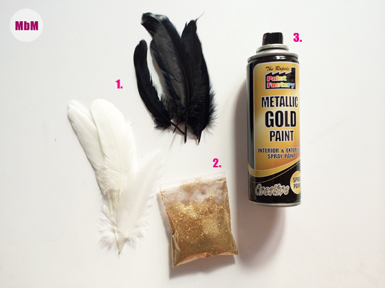 MbM_DIY-TUTORIAL_GOLD-FEATHERS_Supplies