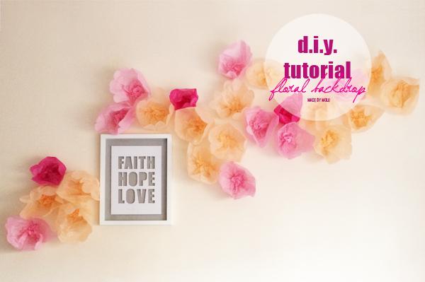 Diy tutorial an oh so simple paper flower backdrop made by molu diy tutorial an oh so simple paper flower backdrop mightylinksfo