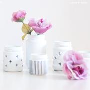 DIY glass jars
