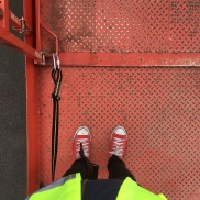 My first Scissor Lift experience!