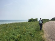 our 15mile walk along the Viking Coastal Trail